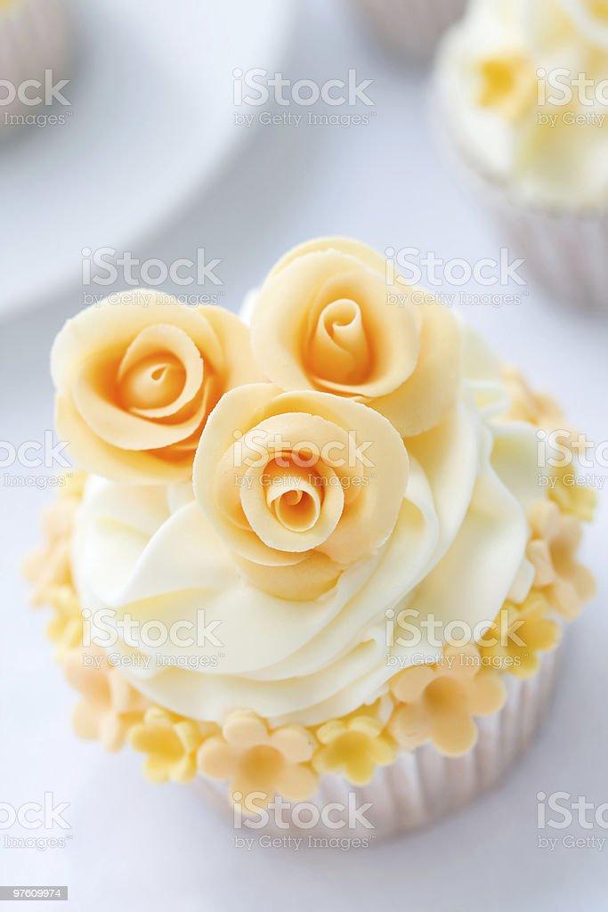Wedding cupcake royalty-free stock photo