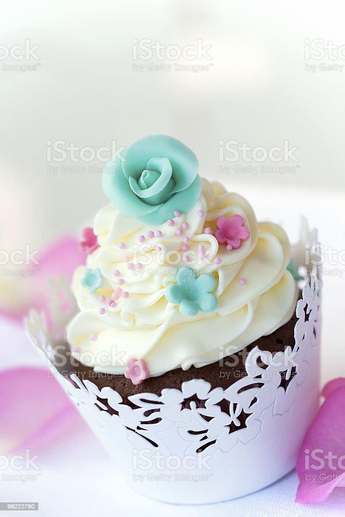Matrimonio cupcake foto stock royalty-free