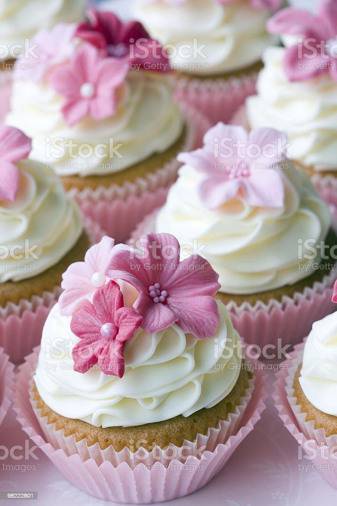 Matrimonio cupcakes foto stock royalty-free