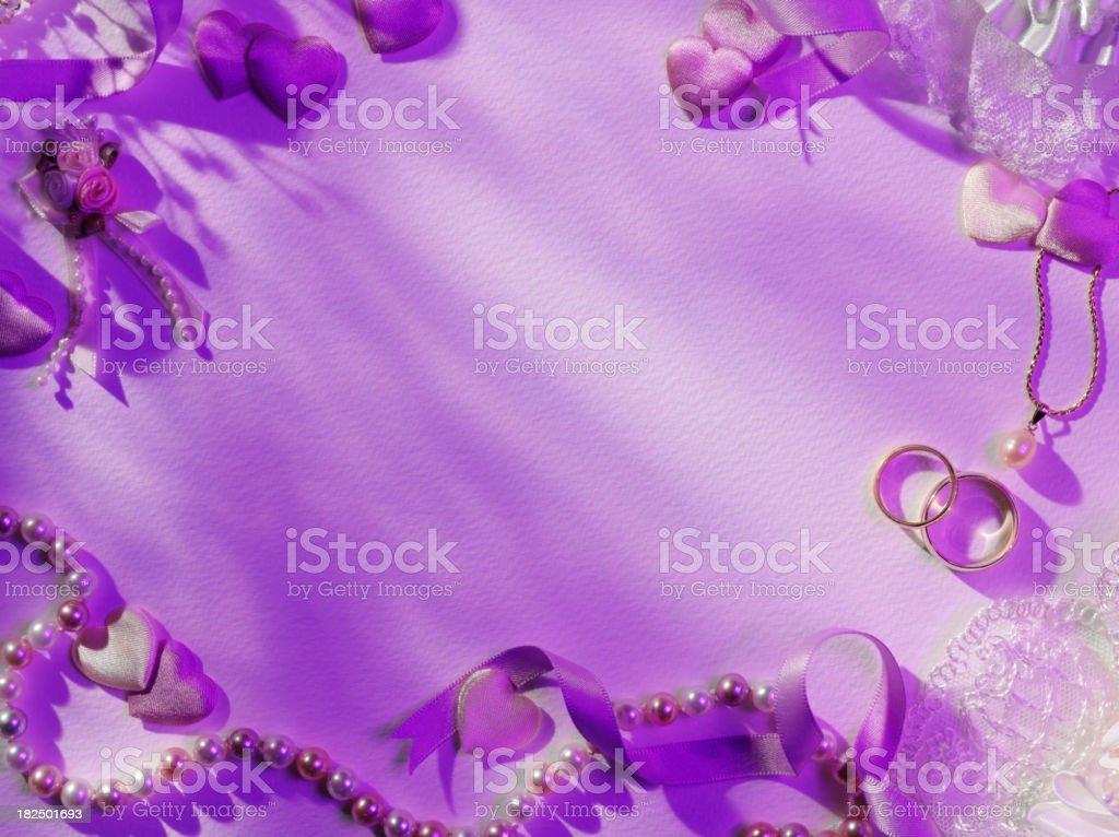 Wedding Day Copy Space stock photo