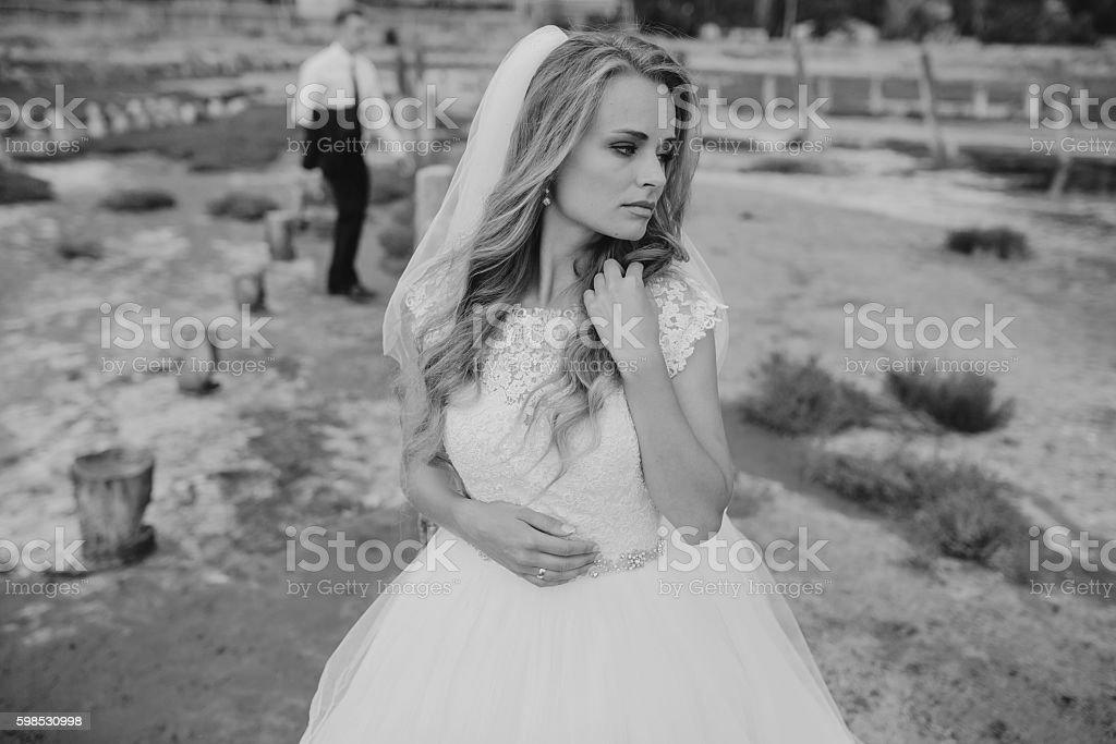 Mariage à odessa photo libre de droits