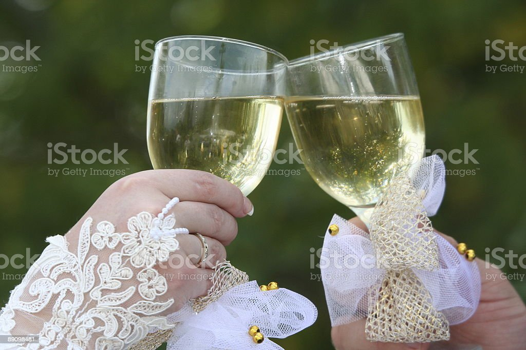 Matrimonio giorno foto stock royalty-free