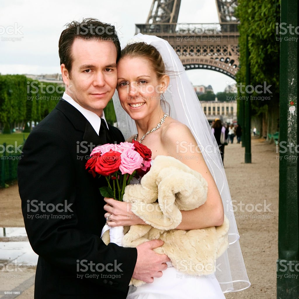 wedding day royalty-free stock photo