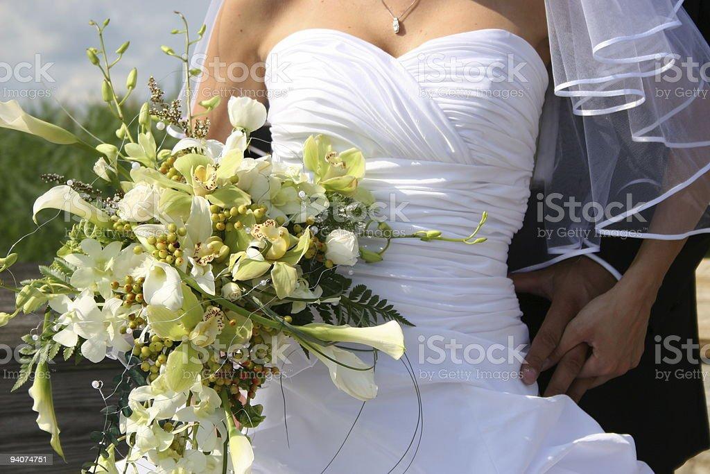 Wedding day royalty-free stock photo