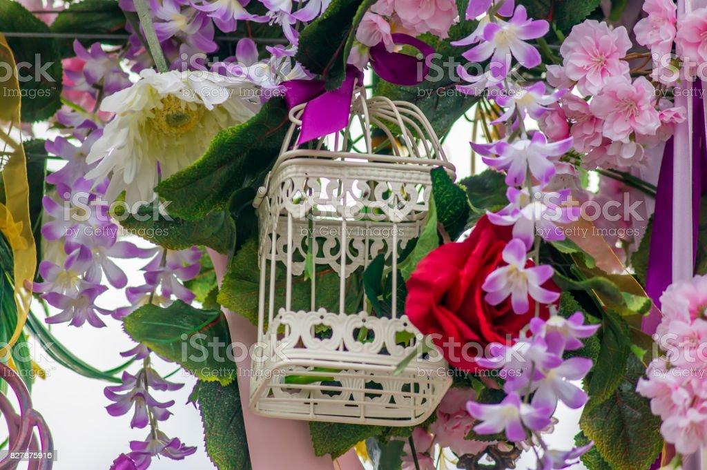 Wedding Decoration Alice In Wonderland Style Arc Decoration Stock