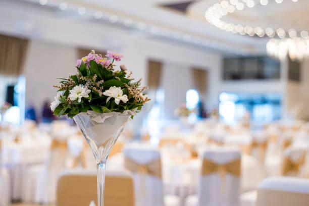 ウェディングの装飾の花 - 結婚式 ストックフォトと画像