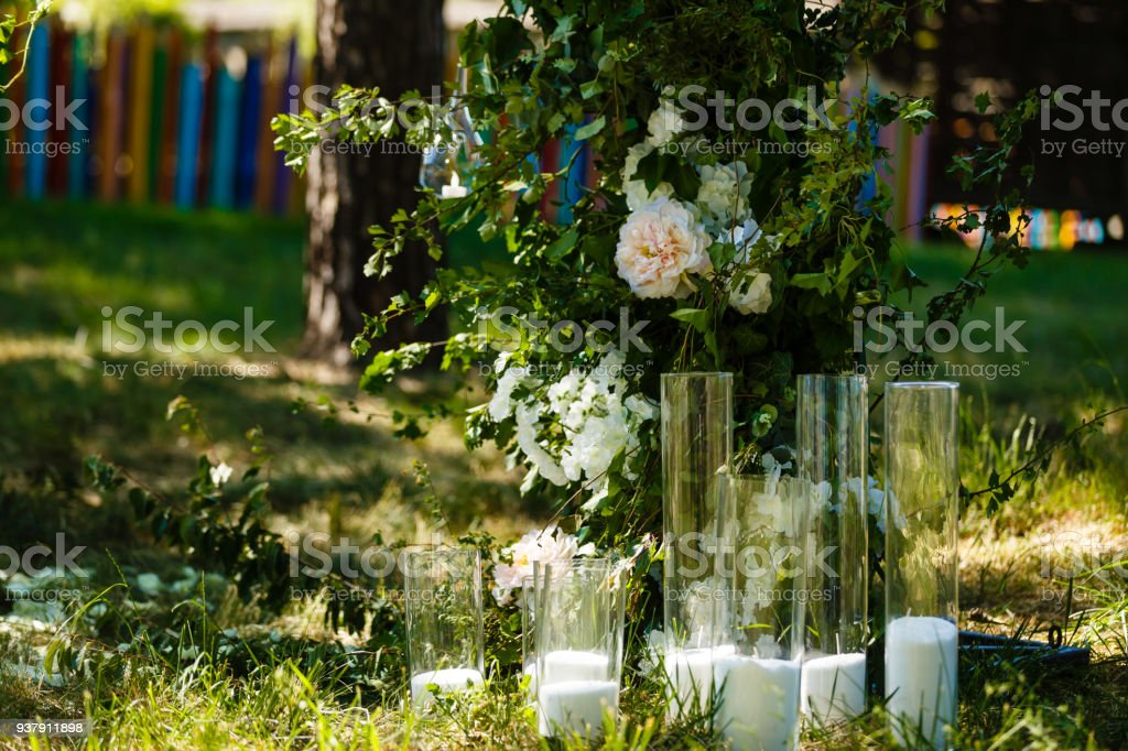 Wedding Decorations Country Style Solemn Ceremony Wedding In Nature