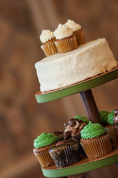 Wedding Desserts stock photo