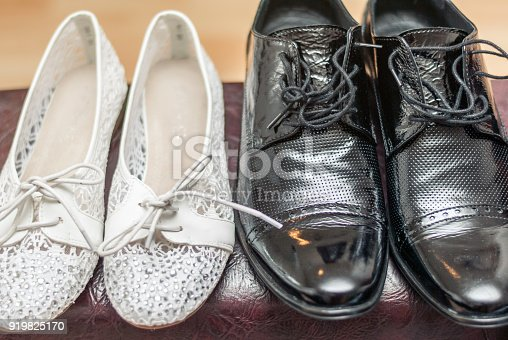 Wedding Detail, men's and women's shoes