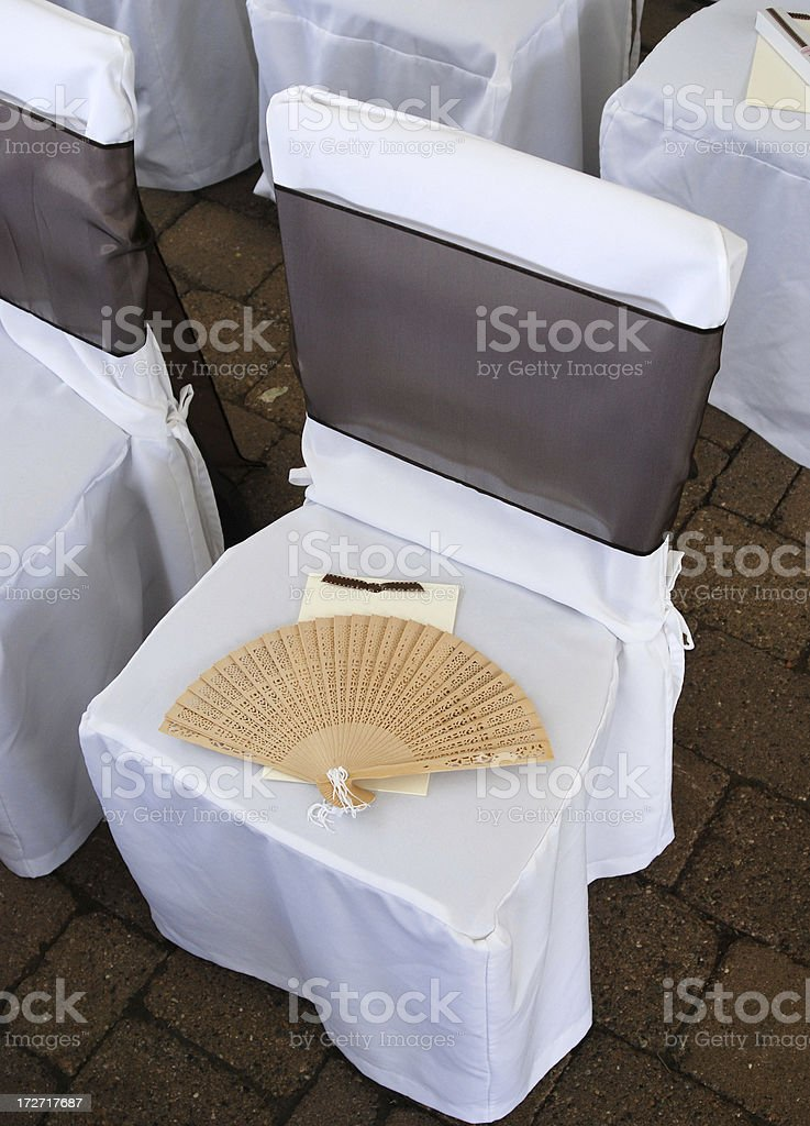 Wedding detail royalty-free stock photo