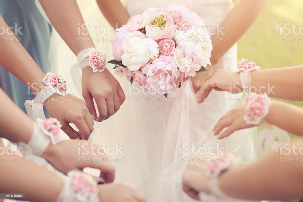 details einer Hochzeit – Foto