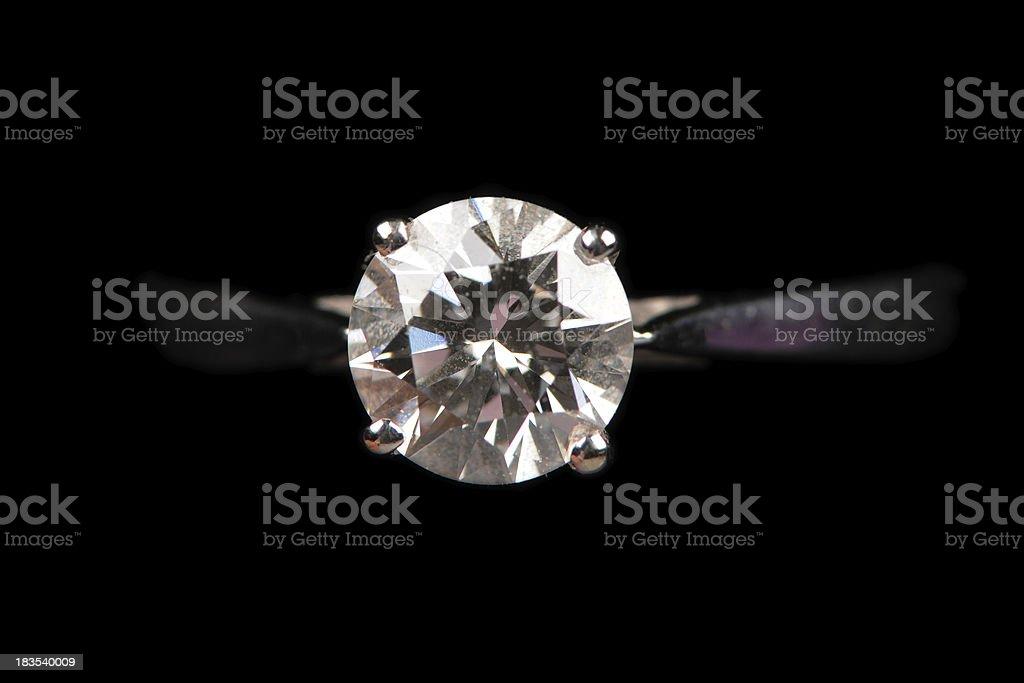 Wedding Diamond Ring royalty-free stock photo