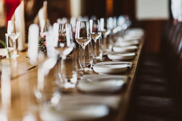 Hochzeitstisch – Foto