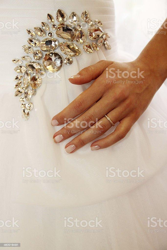Abito da sposa - Foto stock royalty-free di Abbigliamento formale