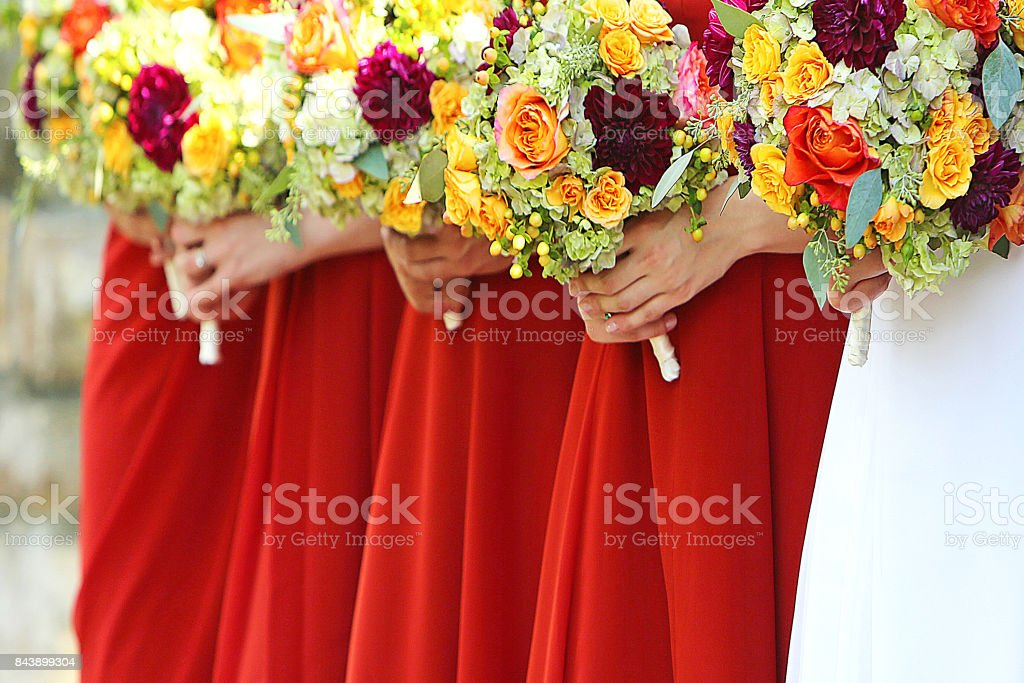 Wedding Dresses stock photo