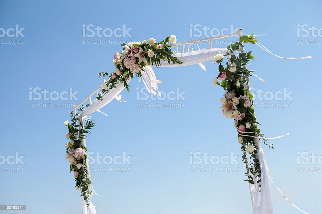 Wedding event. Greece, Crete. stock photo