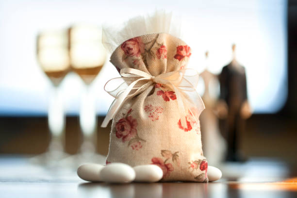 Wedding favor - foto stock