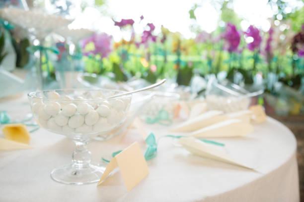 wedding favors - foto stock