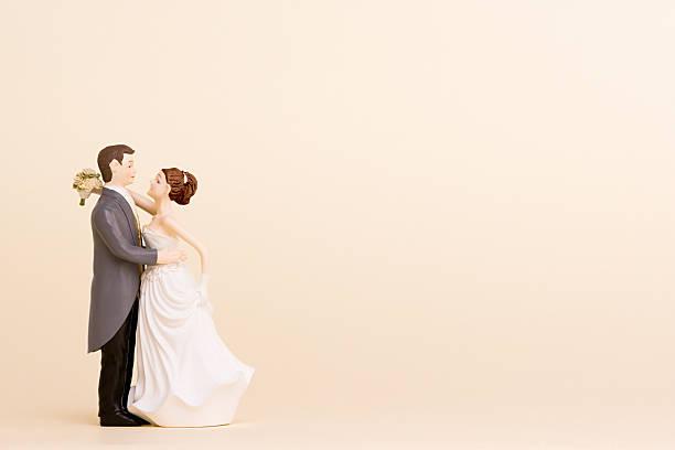figurines de mariage - Photo