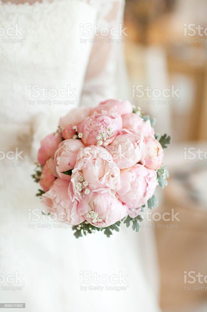 Wedding flowers. Bouquet. stock photo