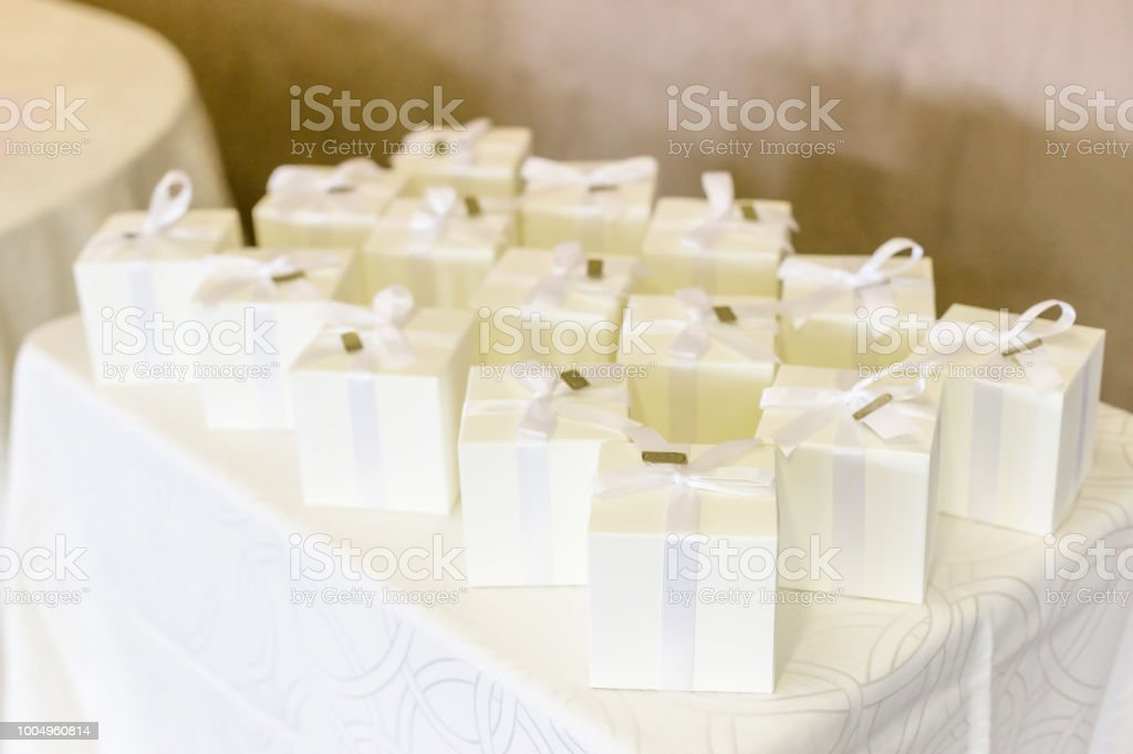 Wedding Gifts For Guest Stock Photo More Pictures Of Almond Istock