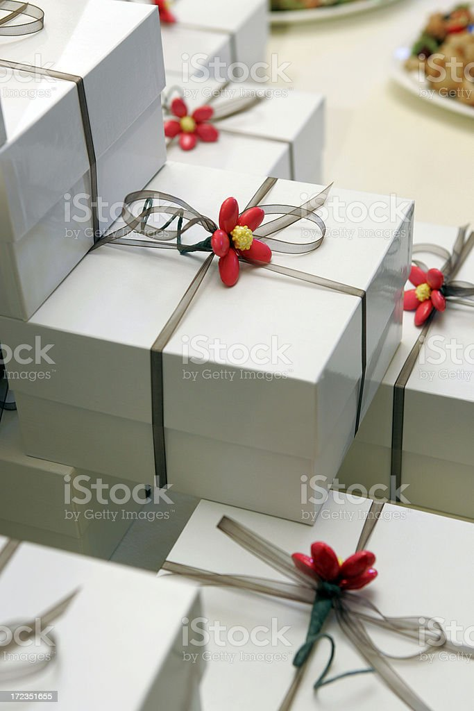 Wedding Gifts royalty-free stock photo