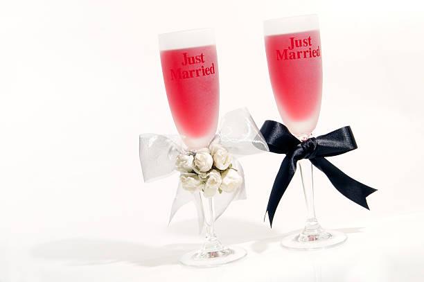 Hochzeit-Gläser – Foto