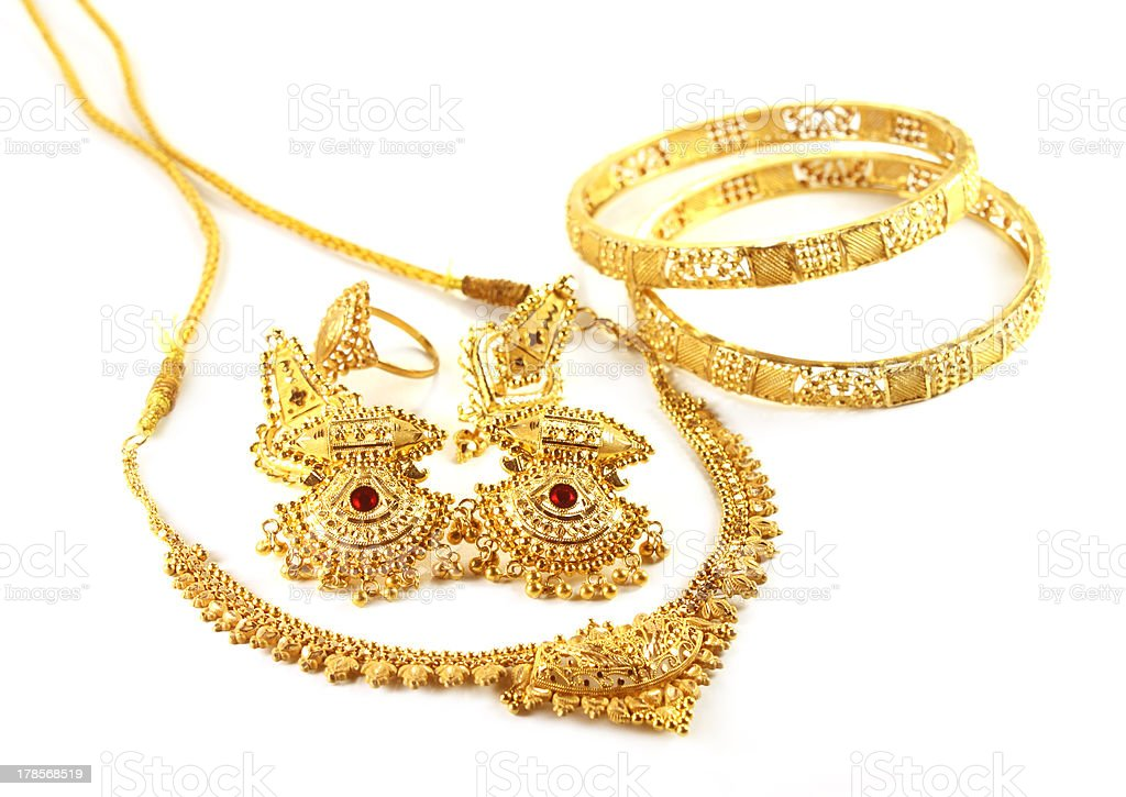 Wedding Gold Jewelry Stock Photo Download Image Now Istock