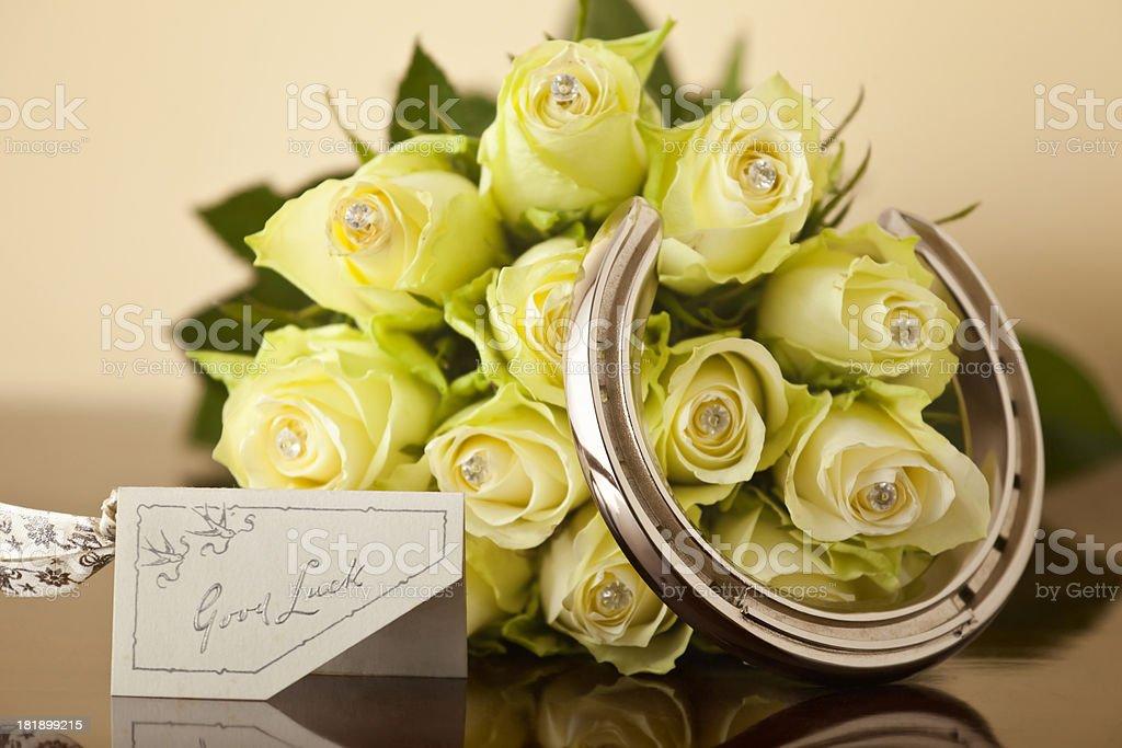 Wedding Good Luck royalty-free stock photo