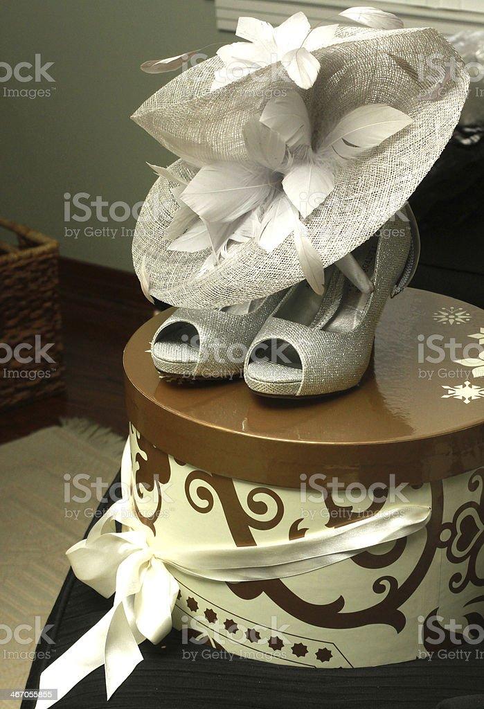 Wedding Hat Elegance stock photo
