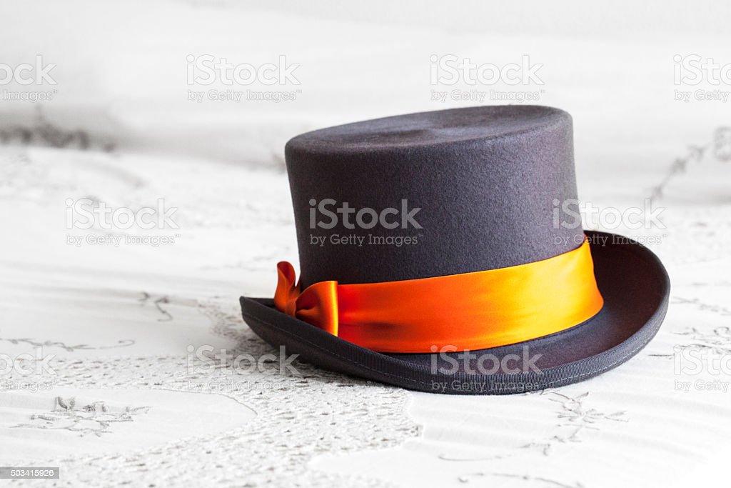 Wedding hat stock photo
