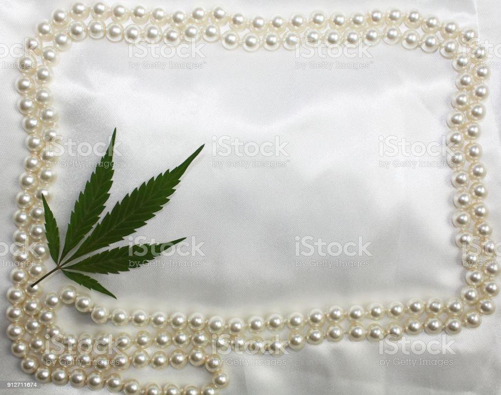 Hippieoriginal Braut Satin Hochzeit Weißer Hintergrund Mit ...