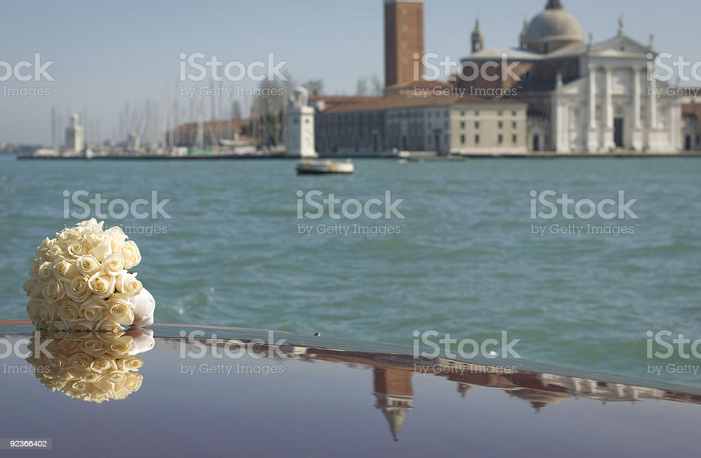 Wedding in Venice royalty-free stock photo
