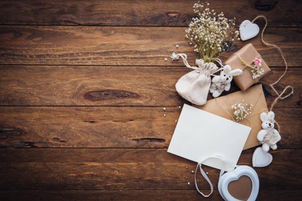 Invito di nozze  - foto stock
