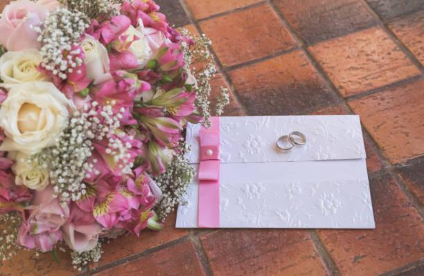 結婚式の招待状 ストックフォト