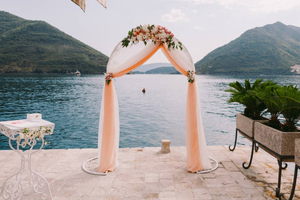 Hochzeit-isle-Muster und Bogen – Foto