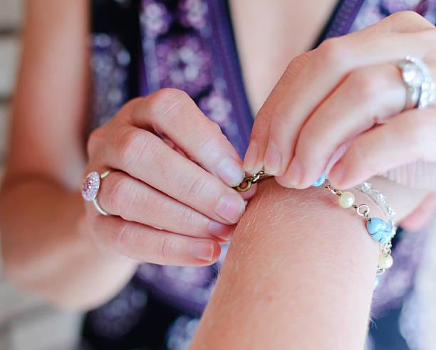 Wedding Jewelry stock photo