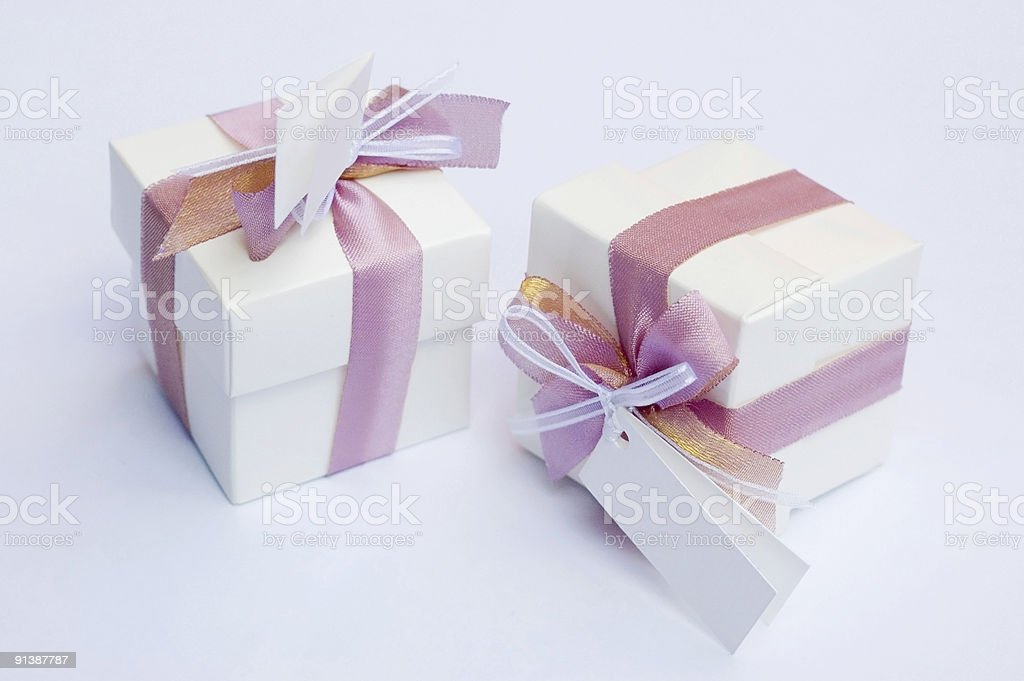 Wedding keepsake - gift royalty-free stock photo