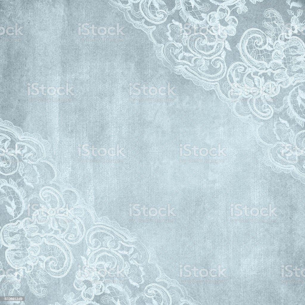 Wedding lace background stock photo