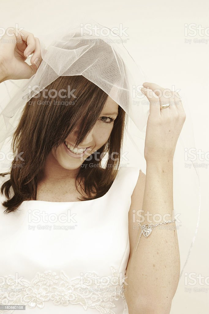 Wedding Laughter royalty-free stock photo