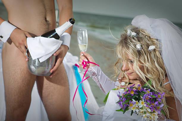 Hochzeit am Strand – Foto