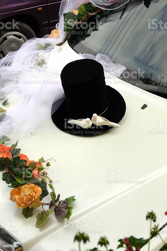 Wedding ornament royalty-free stock photo