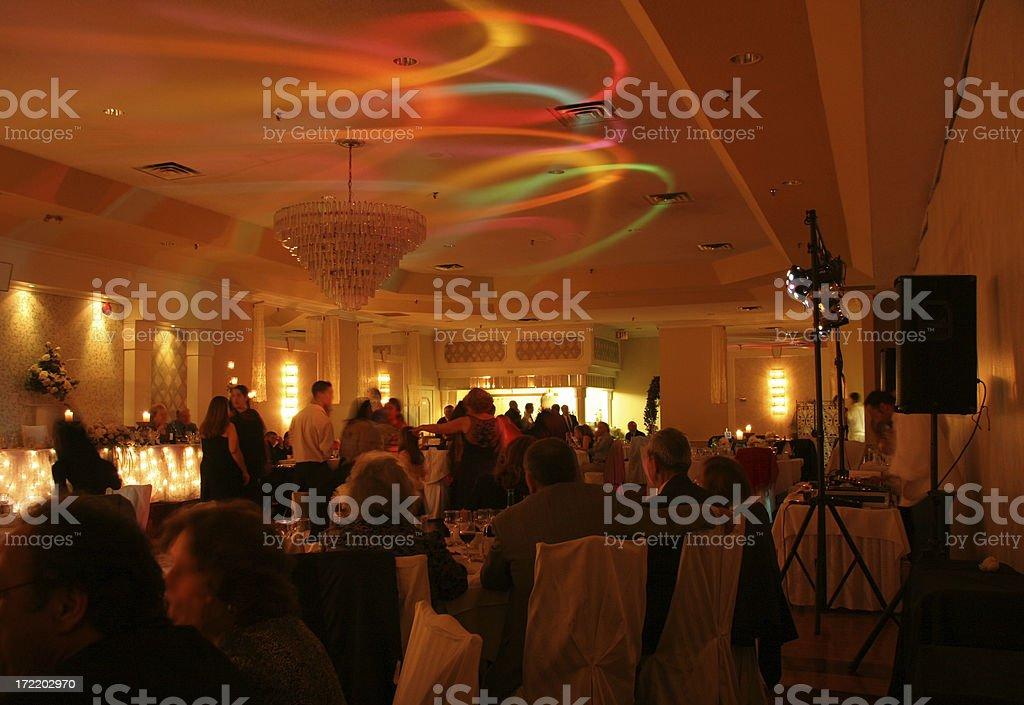 Wedding Party -01 stock photo