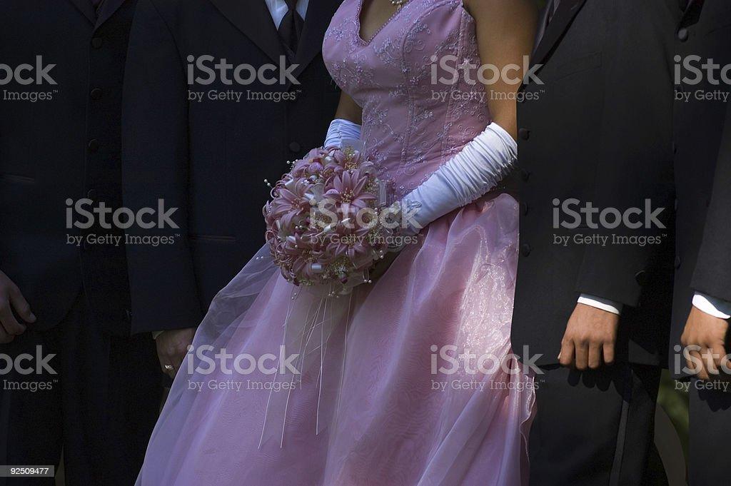 Wedding party royalty-free stock photo