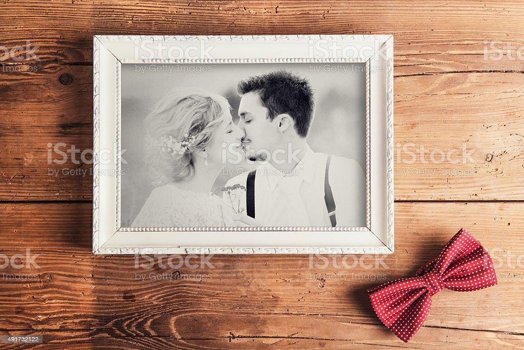Wedding photo stock photo