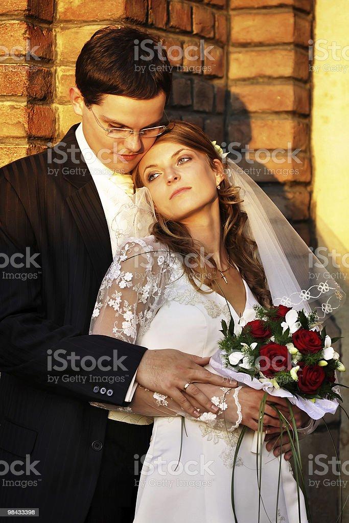 Matrimonio foto stock royalty-free