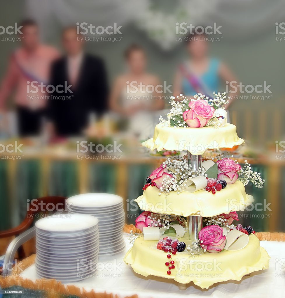 Wedding pie 6 royalty-free stock photo
