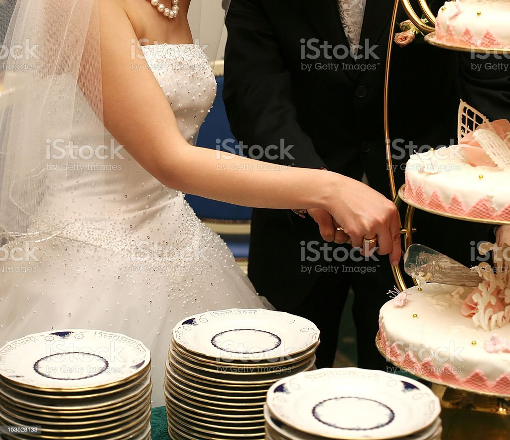 wedding pie royalty-free stock photo