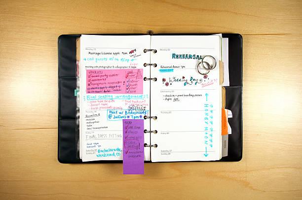 Wedding Planning Calendar圖像檔