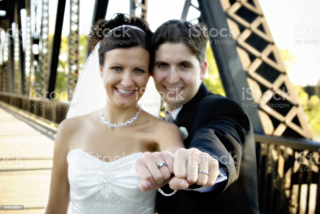 Wedding Portraits royalty-free stock photo